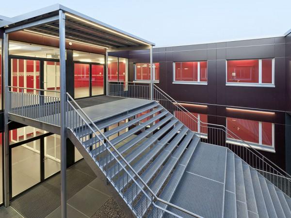 Farbkonzept Pavillon Kanti Baden 2012
